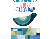 Lisa Congdon: 2017 Wall Calendar (Limited Edition)
