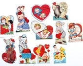 Vintage 1940s School Valentine Collection