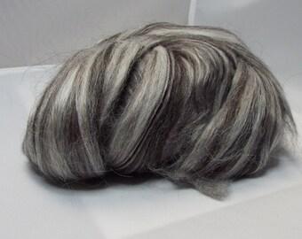 Alpaca and Silk Top- Dark Silver
