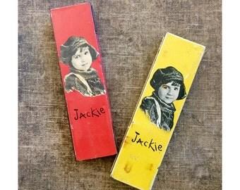 Jackie Pencil Box - Tin Litho Pencil Box