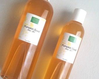 Pumpkin Seed Hair Oil | Sweet Orange and Rosemary Essential Oil | 100% natural