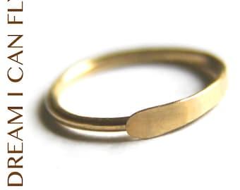 Delicate Conch Piercing Hoop 12mm 20g 24K Gold - 12mm Hammered Hoop Earrings in 20 gauge solid 24K yellow gold