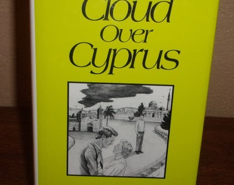 Cloud Over Cyprus-Mary Frances Arnold-Hardcover Book w/DJ-Signed 1st Edition-1992