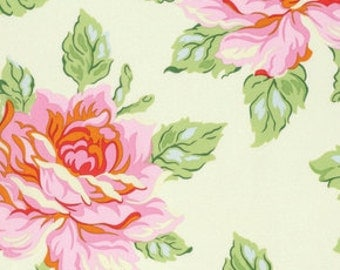Heather Bailey's Nicey Jane...Hello Roses in Cream, yard