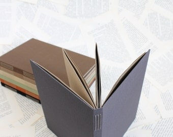 Large Long Stitch Bullet Journal Notebook with Kraft Paper Dotted Grid Pages