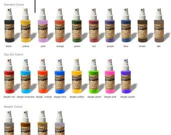 Metallic Sprayers - Multi-Surface Spray Inks - Ink Sprays - Fabric Spray Paints - Dyes - By Stencil1