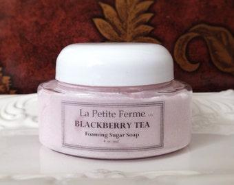 Berry Bramble Tea soap - Whipped sugar body souffle - NEW