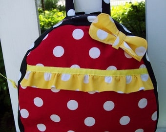 My Carrie Teen/Toddler Purse Backpack Inspired by Minnie
