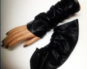Leather Sleeves very warm and soft perfect for Winter
