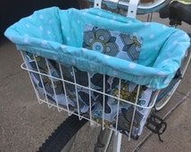 Lazy Garden Bike Basket Liner and Purse in One
