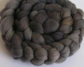 Roving Fiber Top Wool SHADES of GRAY easy spin 4 oz TARGHEE Phatfiber Feature April Gorgeous Spin Felt Craft Grey