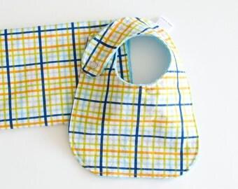 Baby Shower Gift Set Bib and Burp Cloth Baby Boy Military Max