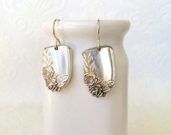 Rose Spoon Handle Earrings