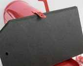 Blank Chipboard Tag Book Black Heavyweight