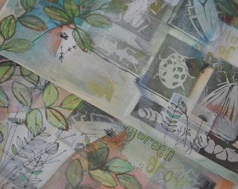 Garden Illustration VALUE PRINT SALE Free Shipping