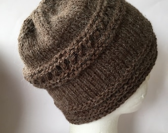 Brown Beanie - Brown Hat - Brown Knit Beanie - Brown Knit Hat -  Mens Brown Beanie - Mens Brown Hat - Winter Beanie - Brown Winter Hat