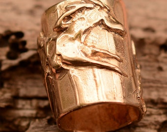 Artisan Wild Pony Slider Bead Horse in Bronze