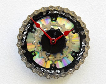 Clock from Recycled Bike Gears