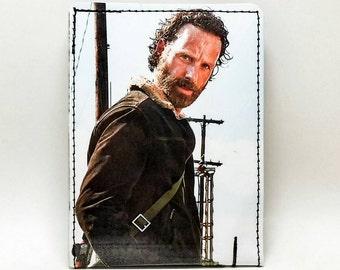 Sewn Calendar/Comic Book Wallet - The Walking Dead - Rick Design 1