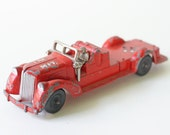 Vintage Toy Fire Truck by Hubley USA 473
