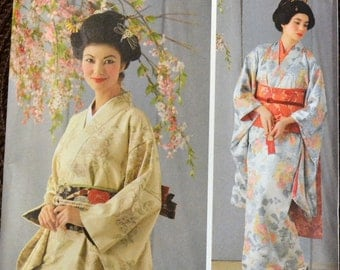 Sewing Pattern  Simplicity 4080 Geisha Costumes Bust 36 to 42 inches  Uncut Complete Factory Folds