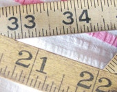 From Daddy's Workshop...Pair of Aged Vintage Folding Rulers