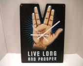 Star Trek.....Live Long and Prosper...... clock