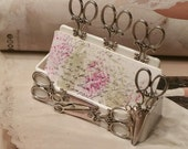 Shear Madness/HairStylist Business Card Holder
