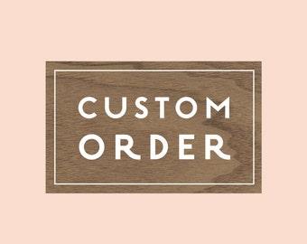 Custom order for Jen, Vintage Ticket Save the dates