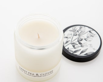 Sweet Pea & Clover Natural Candle