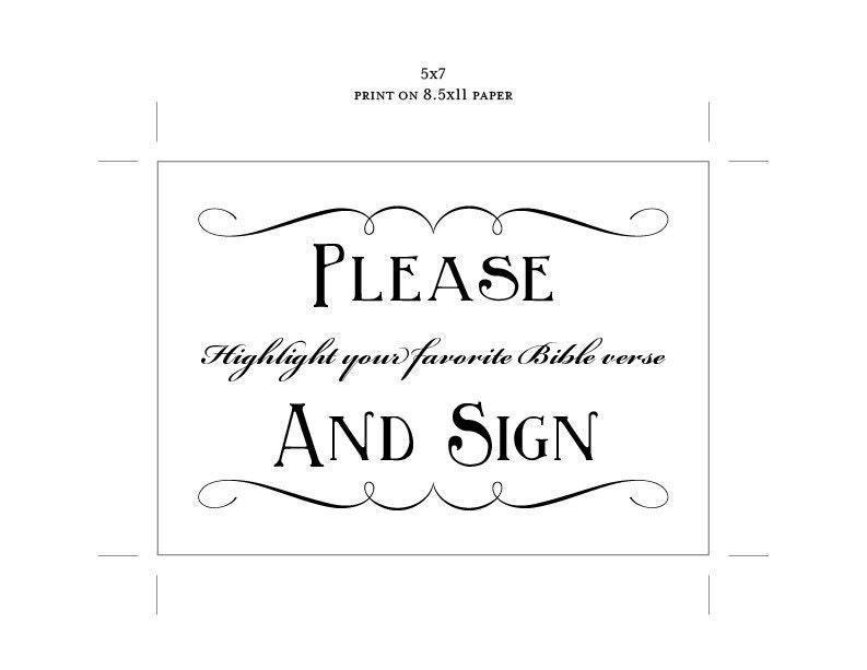 Bible verse wedding sign printable diy digital file pdf favor bible verse wedding sign printable diy digital file pdf favor signage do it yourself guest book solutioingenieria Image collections