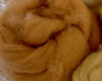 Organic Colorgrown Cotton Brown Sliver 1 oz