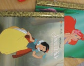 Snow White and Seven Drawfs and Little Mermaid Little Golden Books