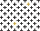 Tribal fabric, Aztec fabric, Boho fabric, Four Corners fabric by Riley Blake, Corners Weave White, Choose The Cut, Plus fabric, Gold fabric