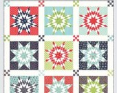 SALE 20% off Quilt Patterns, Nantucket Quilt Pattern by Camille Roskelley, Sweet and Simple no Y seams pattern, Thimble Blossoms