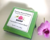 SALE Cucumber Lemon Basil Soap