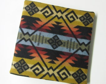 Album Cover Office School Photo Album Native American Print Wool from Pendleton Oregon 3 Ring Binder Included