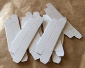 CUSTOM LISTING - 100 Pack - New Lip Balm Tube Packaging Boxes - White - Requested Overnight SHIPPING