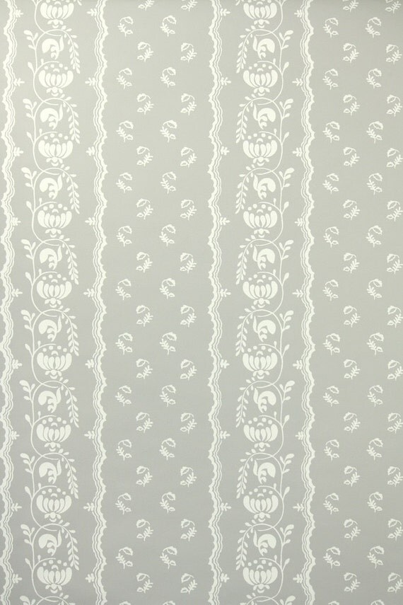 1950s vintage wallpaper white - photo #10