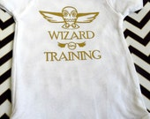 """Onesies: """"Wizard in Training"""" Harry Potter Inspired Shirt"""