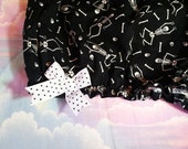 Skeleton bloomers, Halloween shorts creepy cute clothing gothic lolita glow in the dark size L large