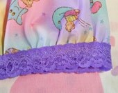 Teddy bear hot pants, space clothing nebula fairy kei roller derby 80s party hot pink size small S