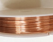 25ft spool of Copper beading wire 24 gauge
