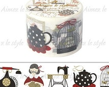 Grandma's Memory Washi Tape Aimez le style • Sewing Machine (02891)