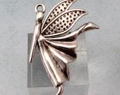 Fairy Pendant, Antique Silver, AS405