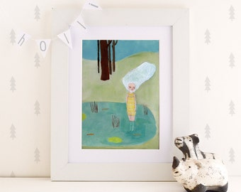 Quilpo lll, print 8x11 inchesprint, wall art, poster print, illustration print, digital print, wall decor, art illustration, 8x11