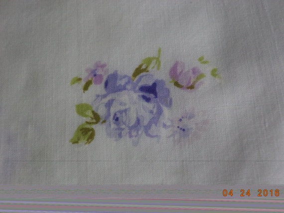 Vintage shabby chic lavender purple violet roses pillowcases