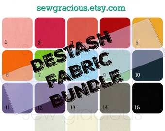 DESTASH Fabric Scrap Bundle. Premier Prints Decorator Weight Fabric Remnants. Priority Flat Rate Envelope FILLED. Solid Canvas. NaturalLinen
