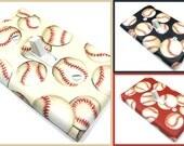 Baseball Nursery Decor Light Switch Cover Boy Nursery Decor Boy Sports Nursery Baseball Decor Red Navy Blue Cream