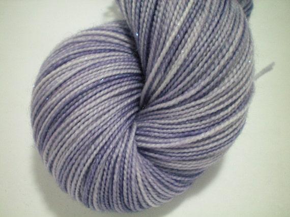 Lavender Skies - Dyed to Order - Hand Dyed - Merino Wool Yarn - Fingering Weight